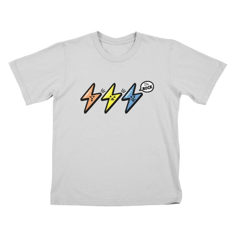 i am rock Kids T-Shirt by beatbeatwing's Artist Shop