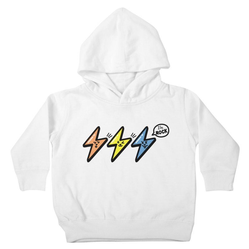 i am rock Kids Toddler Pullover Hoody by beatbeatwing's Artist Shop