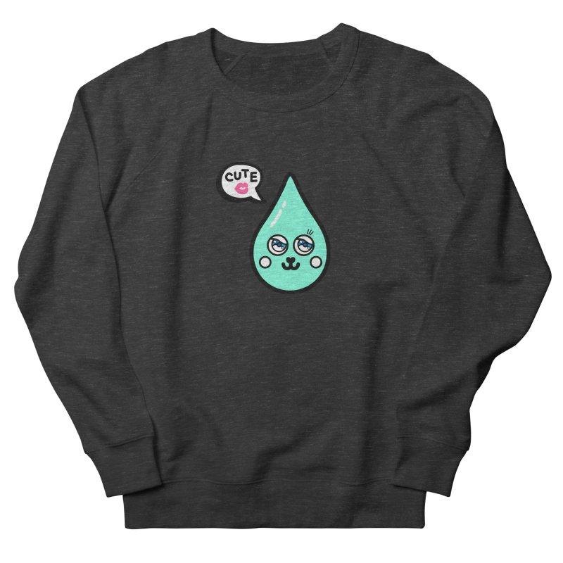 Cute waterdrop Men's Sweatshirt by beatbeatwing's Artist Shop