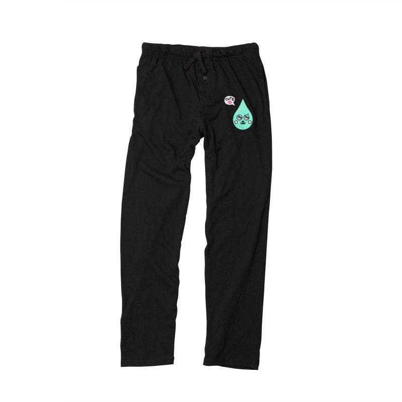 Cute waterdrop Women's Lounge Pants by beatbeatwing's Artist Shop