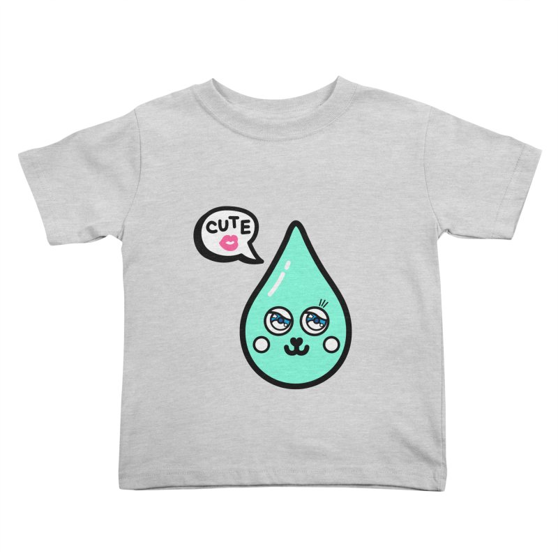 Cute waterdrop Kids Toddler T-Shirt by beatbeatwing's Artist Shop