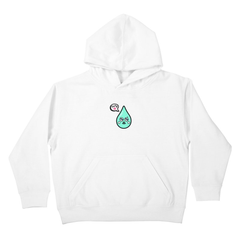 Cute waterdrop Kids Pullover Hoody by beatbeatwing's Artist Shop