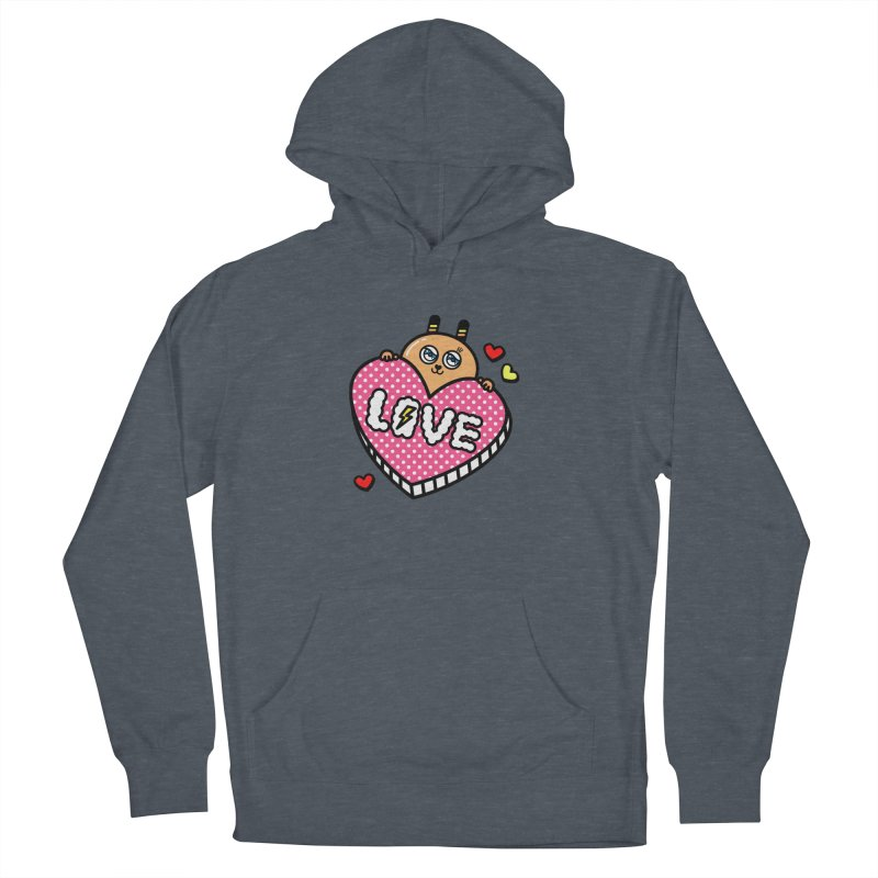 Love is so sweet Women's Pullover Hoody by beatbeatwing's Artist Shop