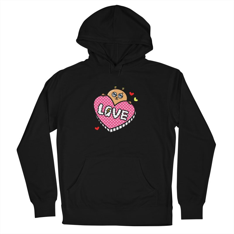 Love is so sweet Women's French Terry Pullover Hoody by beatbeatwing's Artist Shop