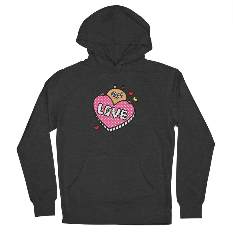 Love is so sweet Men's Pullover Hoody by beatbeatwing's Artist Shop