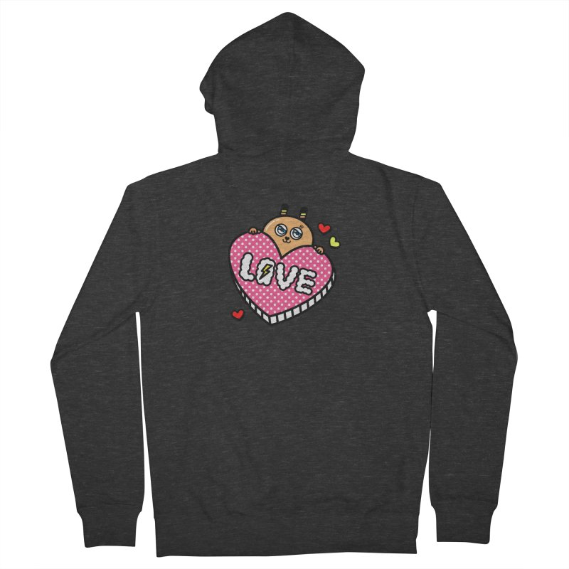 Love is so sweet Women's Zip-Up Hoody by beatbeatwing's Artist Shop