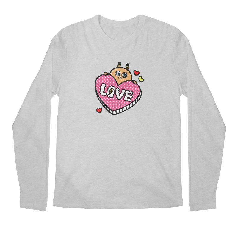 Love is so sweet Men's Longsleeve T-Shirt by beatbeatwing's Artist Shop