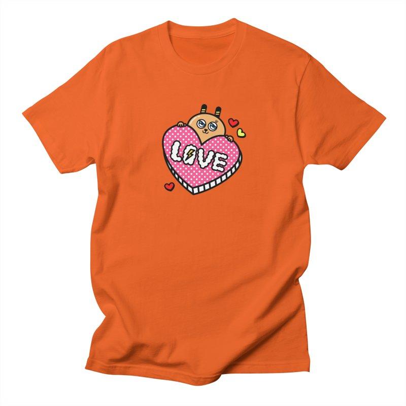 Love is so sweet Men's Regular T-Shirt by beatbeatwing's Artist Shop