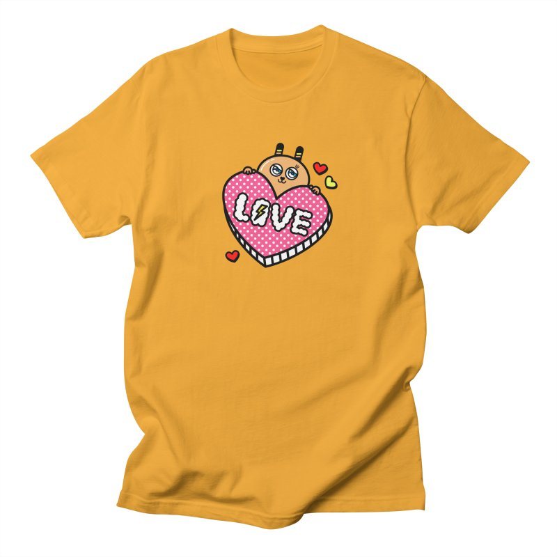 Love is so sweet Men's Regular T-Shirt by beatbeatwing's Artist Shop