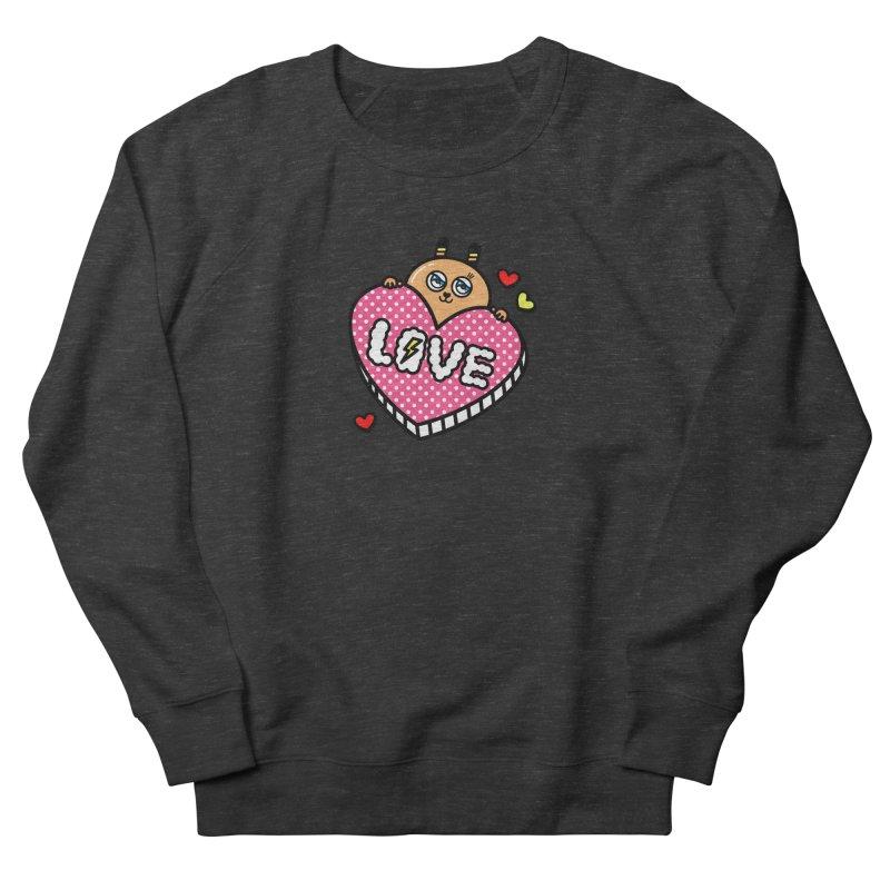 Love is so sweet Women's French Terry Sweatshirt by beatbeatwing's Artist Shop