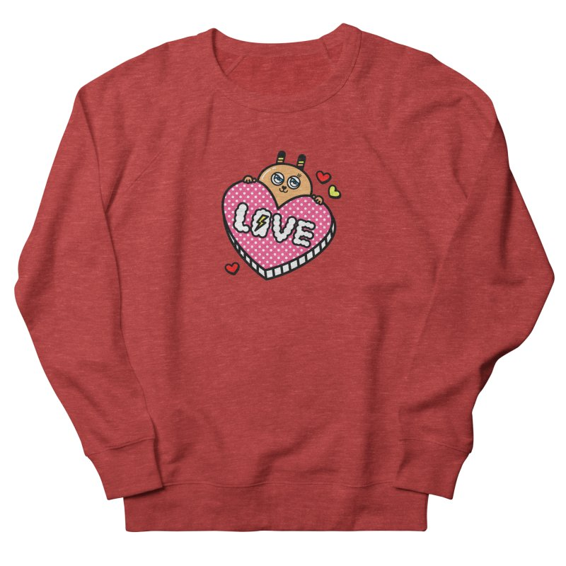 Love is so sweet Women's French Terry Sweatshirt by beatbeatwing's Artist Shop