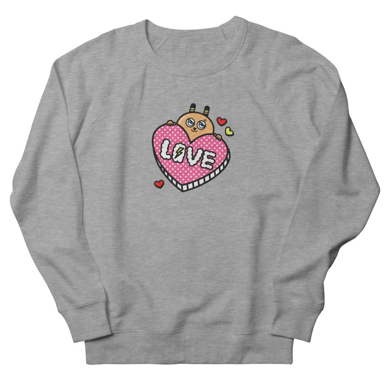 Love is so sweet Men's French Terry Sweatshirt by beatbeatwing's Artist Shop