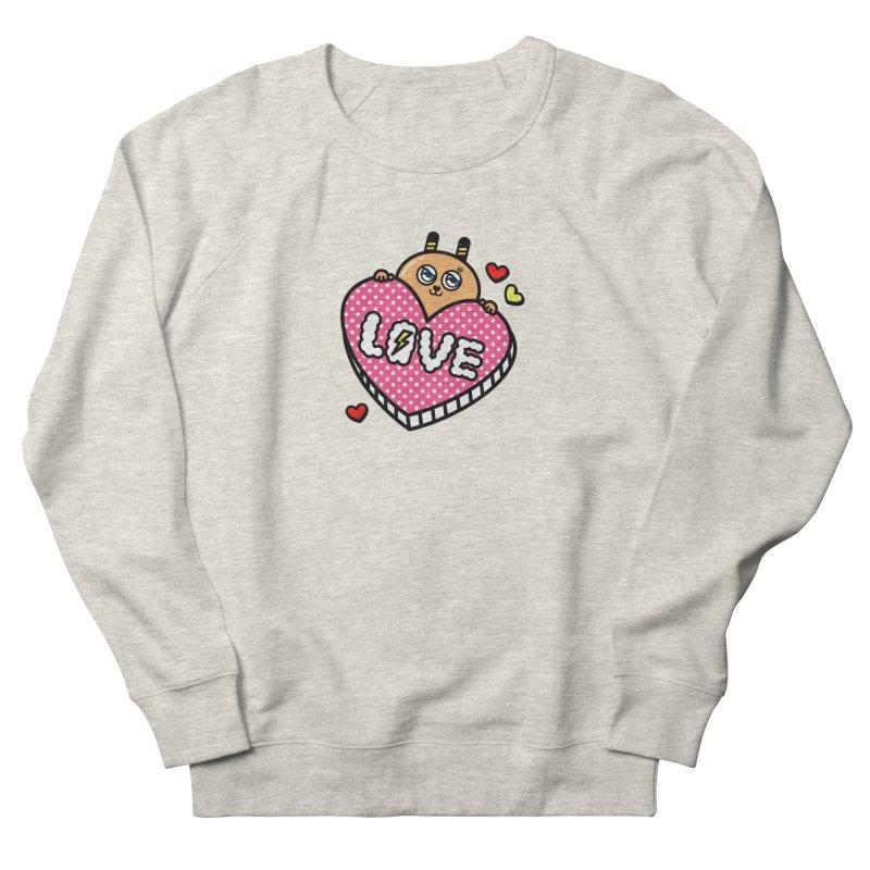 Love is so sweet Men's French Terry Sweatshirt by beatbeatwing's Artist Shop