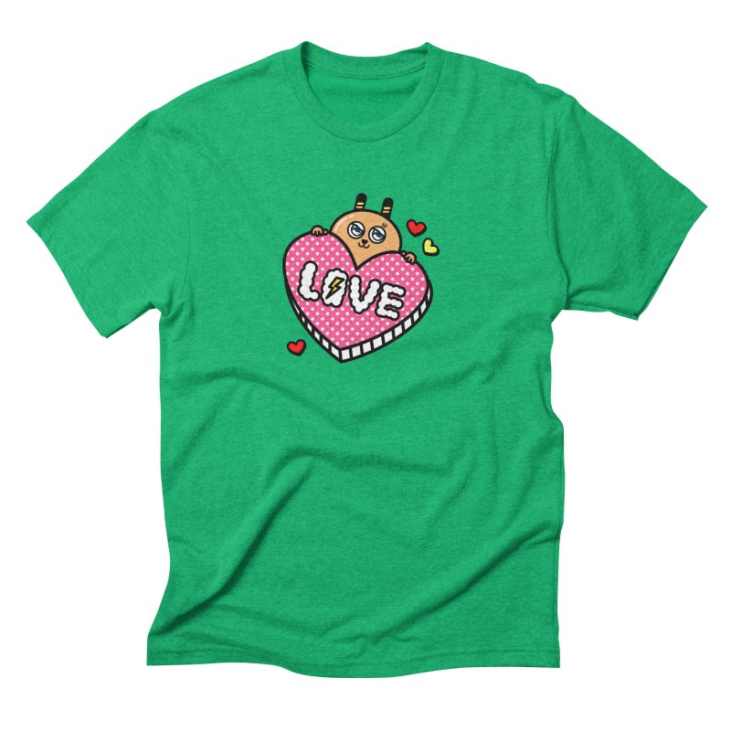 Love is so sweet Men's Triblend T-Shirt by beatbeatwing's Artist Shop