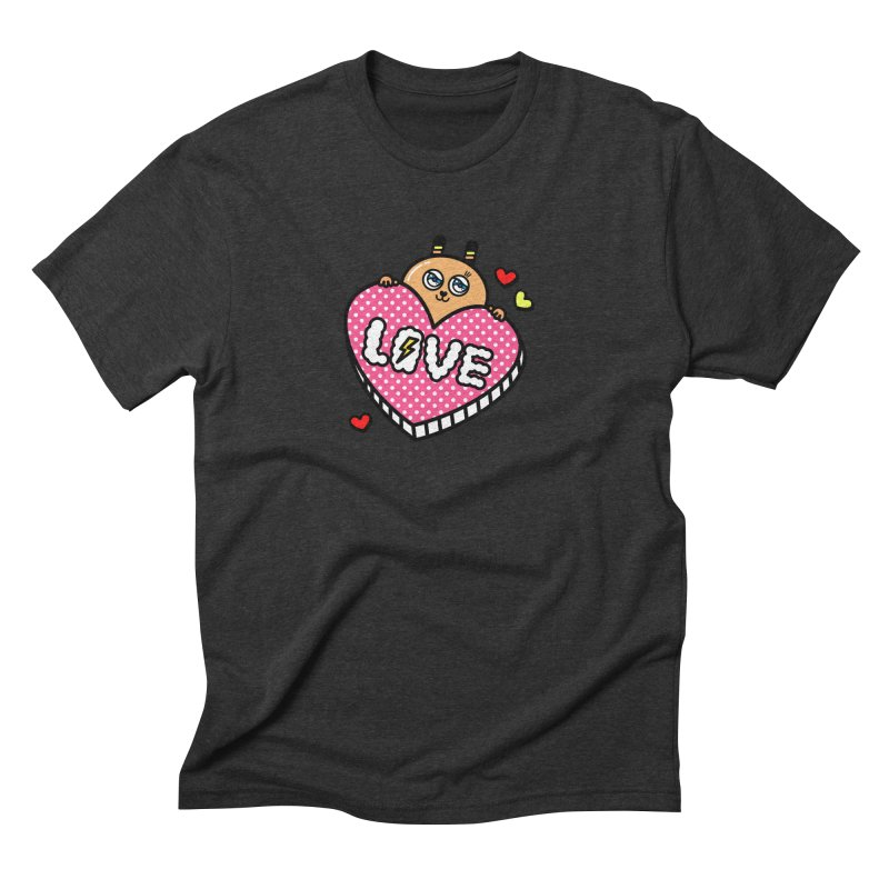 Love is so sweet Men's Triblend T-Shirt by beatbeatwing's Artist Shop
