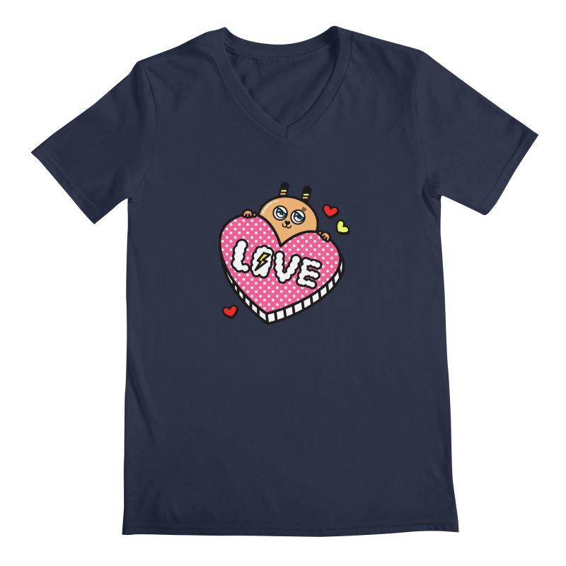 Love is so sweet Men's V-Neck by beatbeatwing's Artist Shop