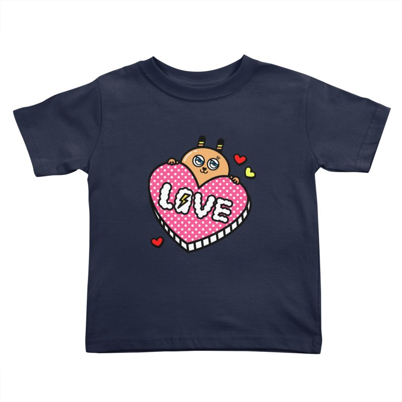 Love is so sweet Kids Toddler T-Shirt by beatbeatwing's Artist Shop