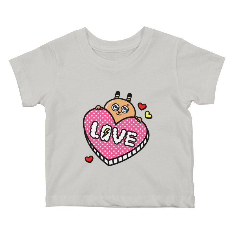 Love is so sweet Kids Baby T-Shirt by beatbeatwing's Artist Shop