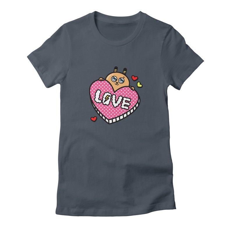 Love is so sweet Women's T-Shirt by beatbeatwing's Artist Shop