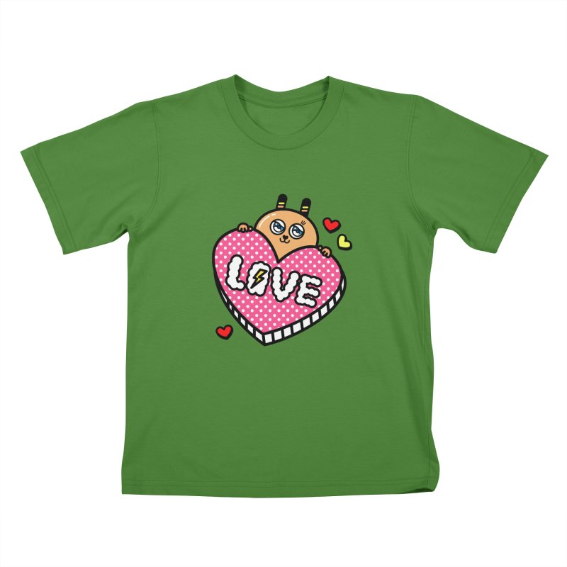 Love is so sweet Kids T-shirt by beatbeatwing's Artist Shop