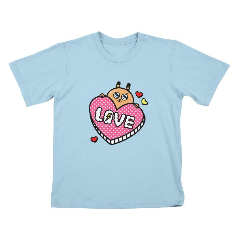 Love is so sweet Kids T-Shirt by beatbeatwing's Artist Shop