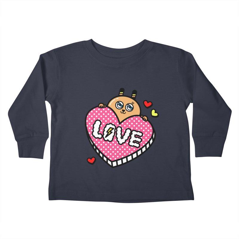 Love is so sweet Kids Toddler Longsleeve T-Shirt by beatbeatwing's Artist Shop