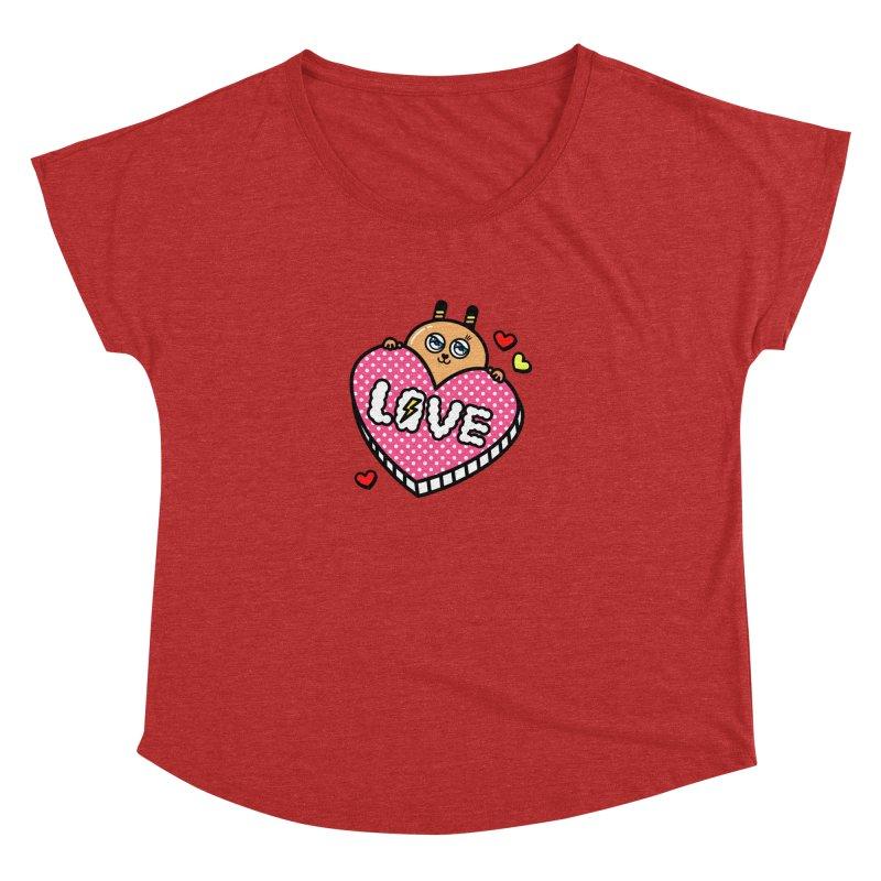 Love is so sweet Women's Dolman by beatbeatwing's Artist Shop