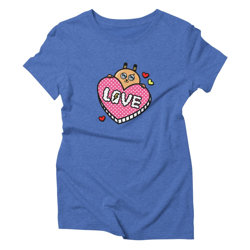 Love is so sweet Women's Triblend T-Shirt by beatbeatwing's Artist Shop