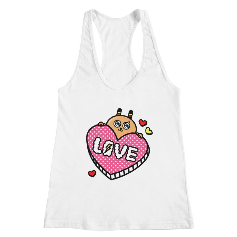 Love is so sweet Women's Racerback Tank by beatbeatwing's Artist Shop