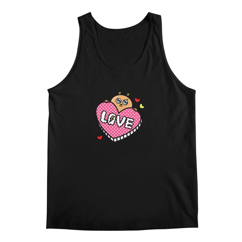 Love is so sweet Men's Tank by beatbeatwing's Artist Shop