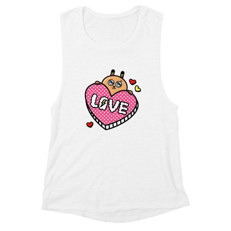 Love is so sweet Women's Muscle Tank by beatbeatwing's Artist Shop