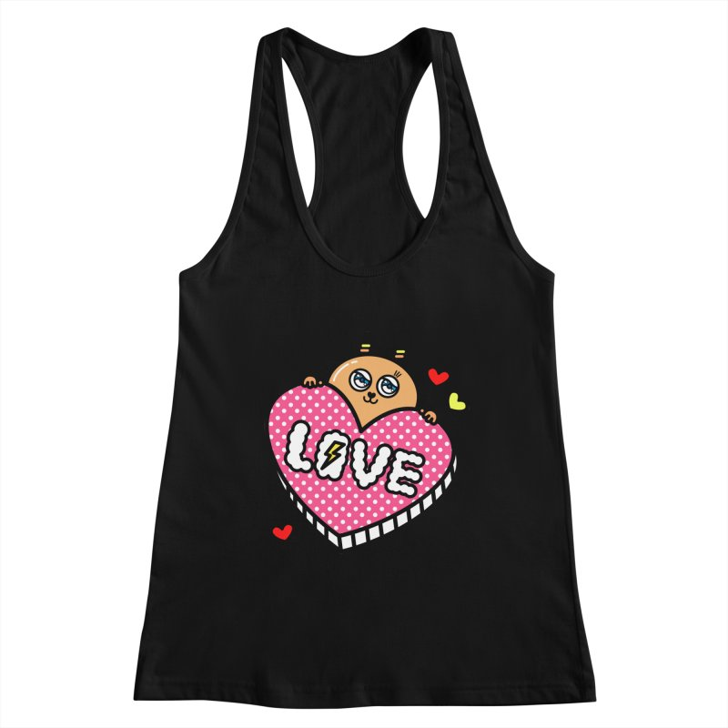 Love is so sweet Women's Racerback Tank by beatbeatwing's Artist Shop