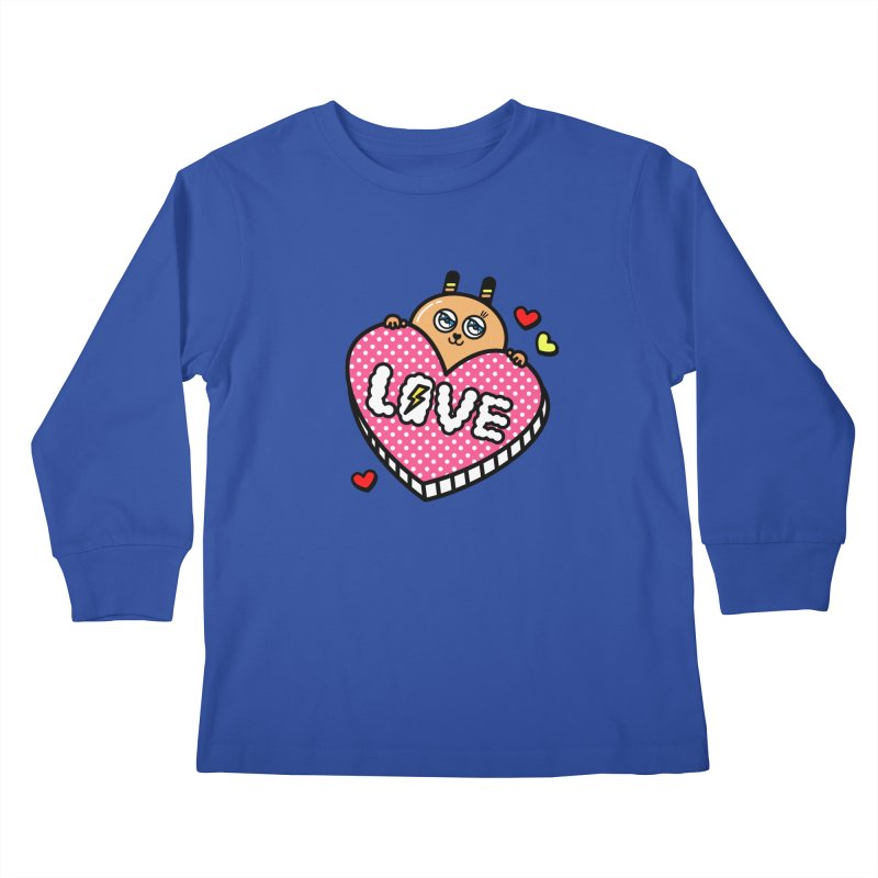 Love is so sweet Kids Longsleeve T-Shirt by beatbeatwing's Artist Shop