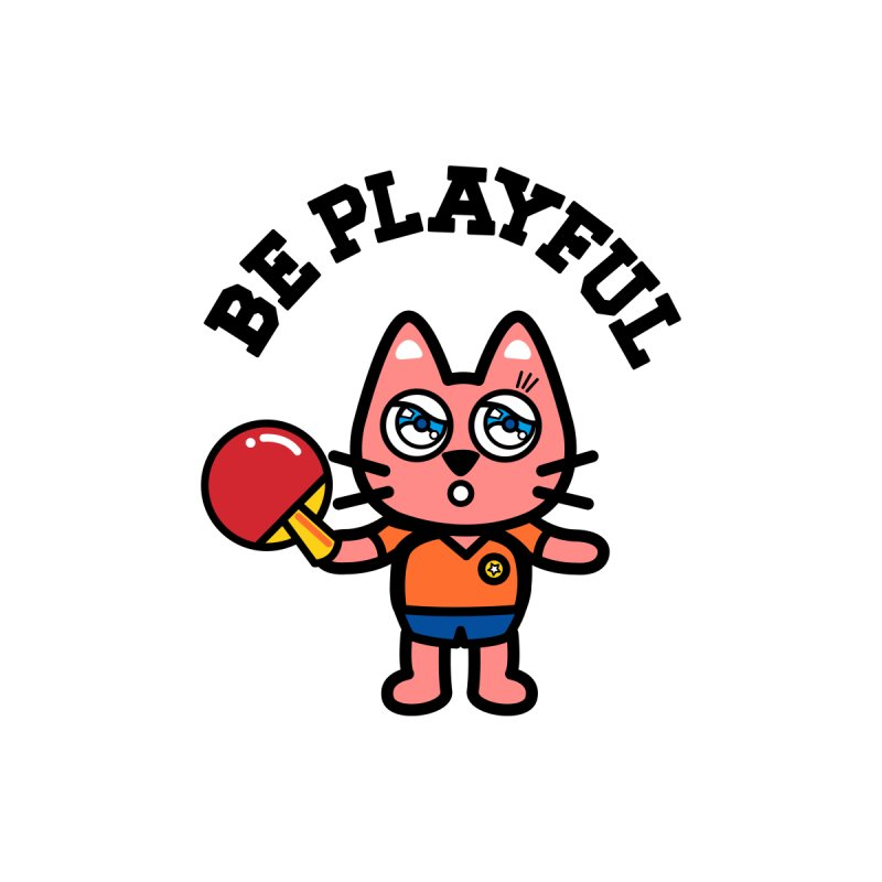 i am table-tennis player Kids T-Shirt by beatbeatwing's Artist Shop