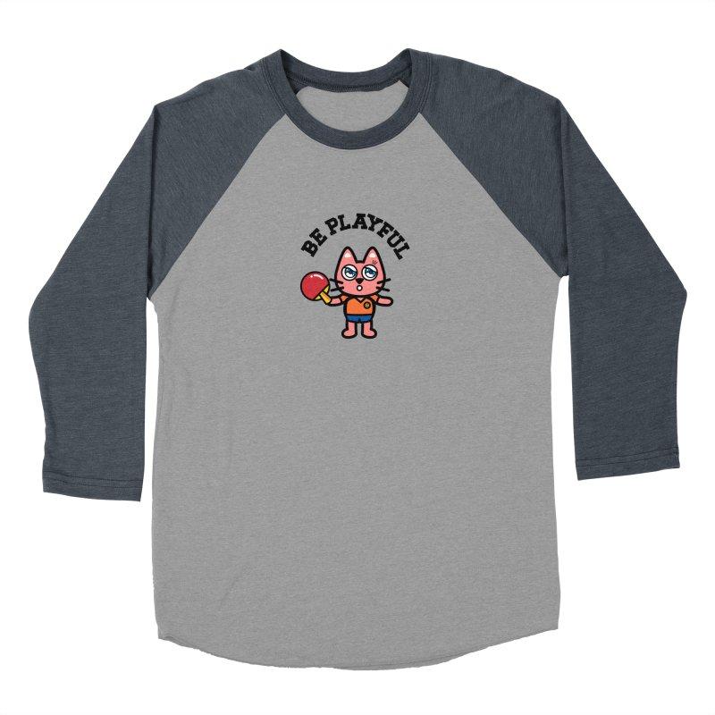 i am table-tennis player Women's Baseball Triblend Longsleeve T-Shirt by beatbeatwing's Artist Shop