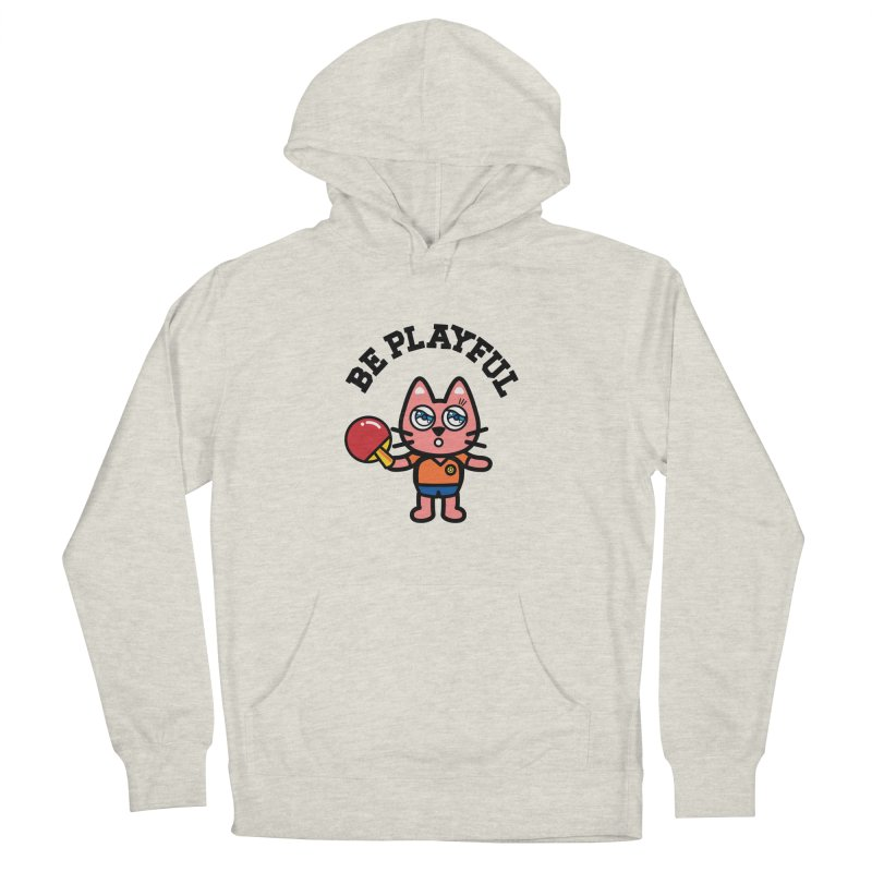 i am table-tennis player Women's French Terry Pullover Hoody by beatbeatwing's Artist Shop