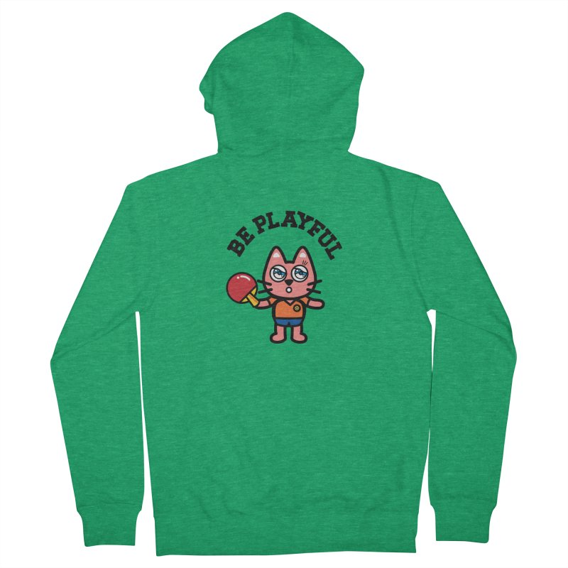 i am table-tennis player Women's Zip-Up Hoody by beatbeatwing's Artist Shop