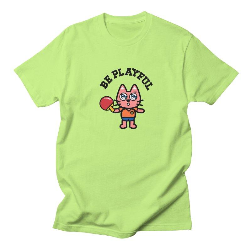 i am table-tennis player Men's Regular T-Shirt by beatbeatwing's Artist Shop
