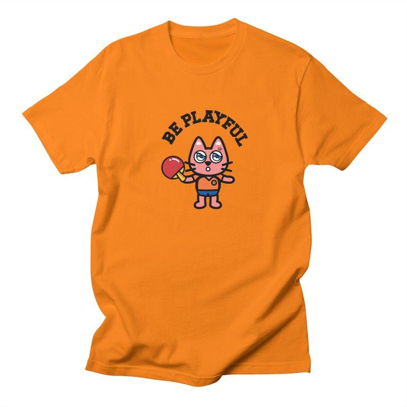 i am table-tennis player Men's T-Shirt by beatbeatwing's Artist Shop