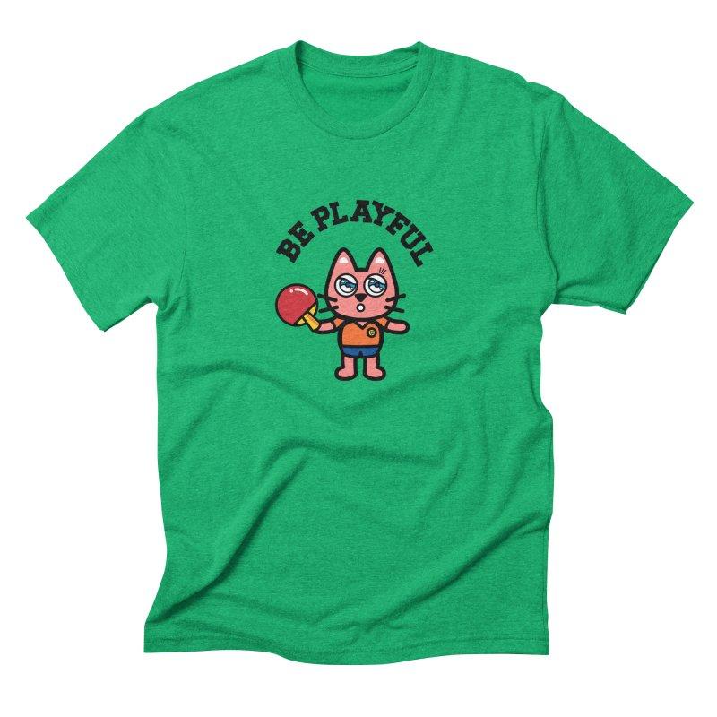 i am table-tennis player Men's Triblend T-Shirt by beatbeatwing's Artist Shop