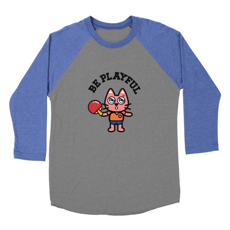 i am table-tennis player Women's Baseball Triblend T-Shirt by beatbeatwing's Artist Shop