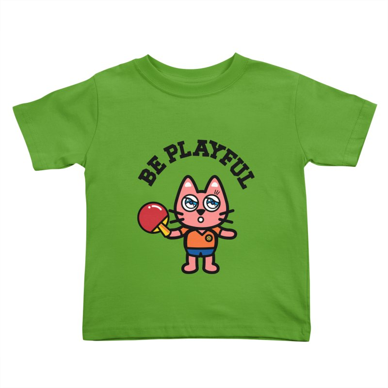 i am table-tennis player Kids Toddler T-Shirt by beatbeatwing's Artist Shop
