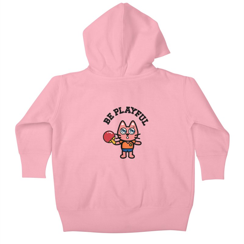 i am table-tennis player Kids Baby Zip-Up Hoody by beatbeatwing's Artist Shop