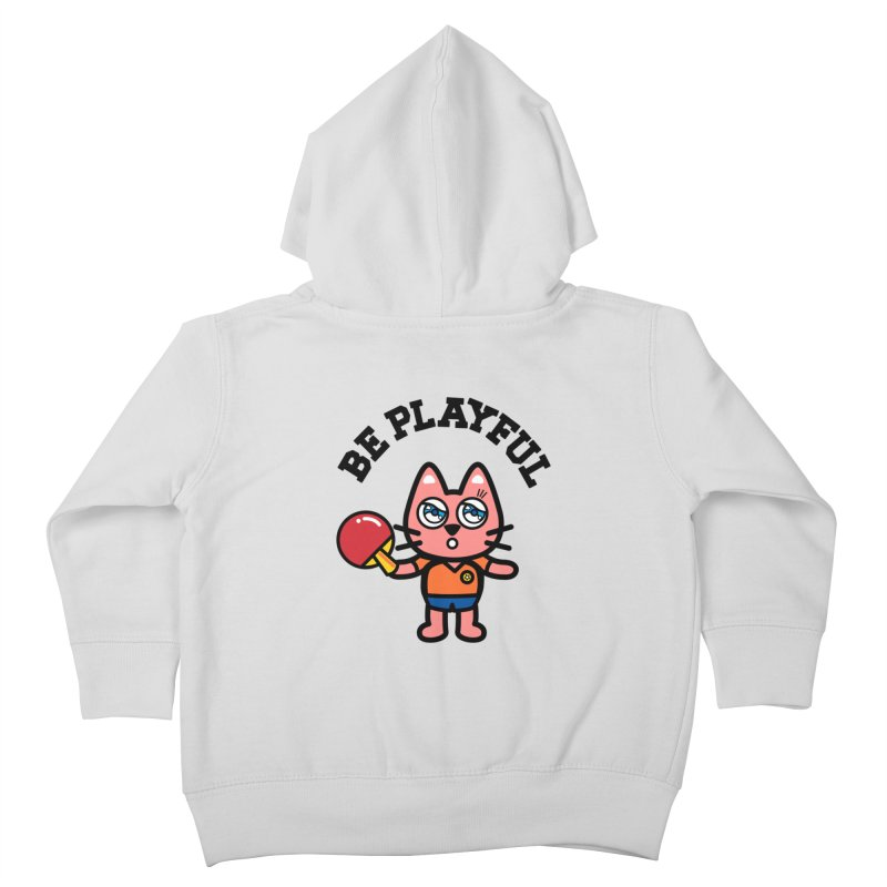 i am table-tennis player Kids Toddler Zip-Up Hoody by beatbeatwing's Artist Shop