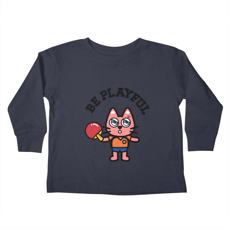 i am table-tennis player Kids Toddler Longsleeve T-Shirt by beatbeatwing's Artist Shop