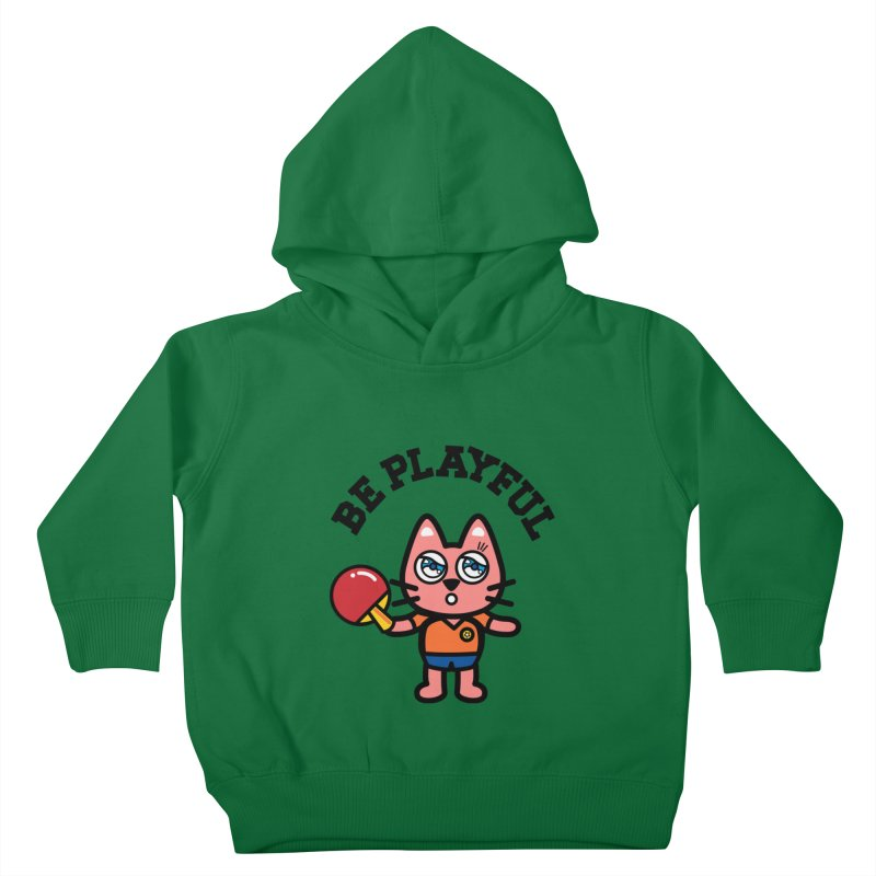 i am table-tennis player Kids Toddler Pullover Hoody by beatbeatwing's Artist Shop