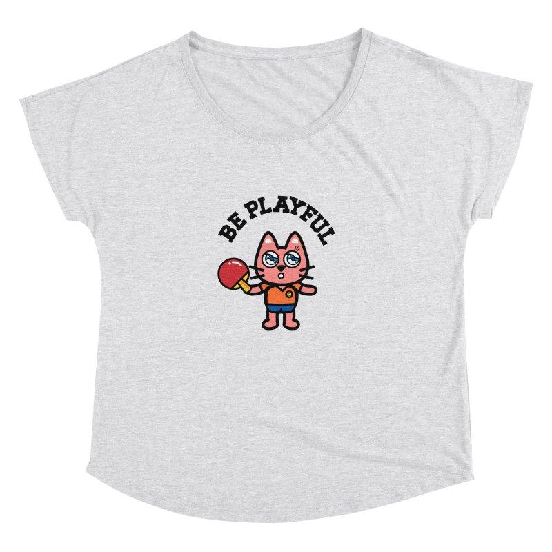 i am table-tennis player Women's Dolman by beatbeatwing's Artist Shop
