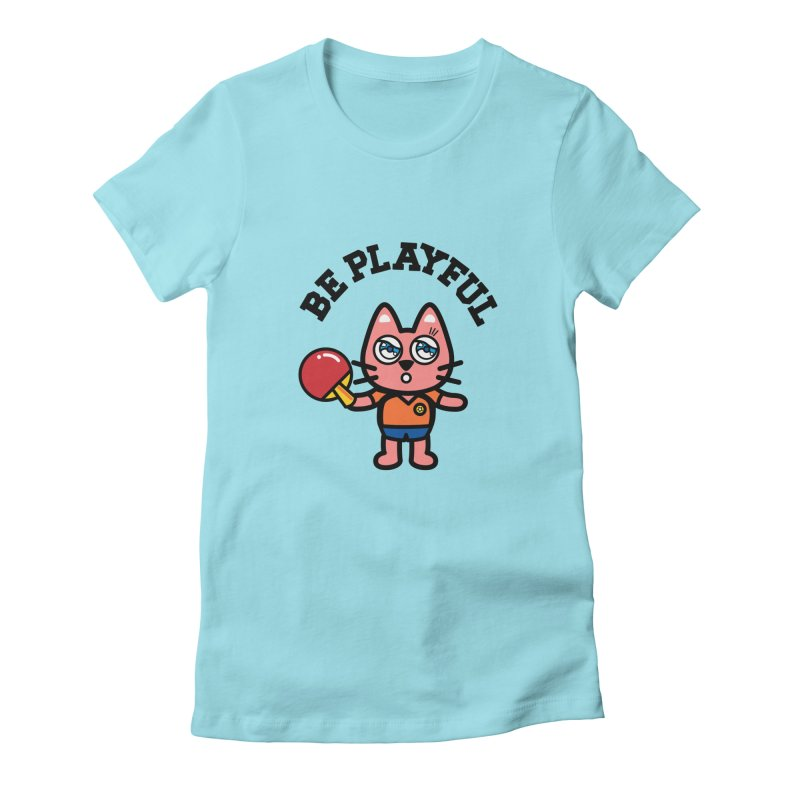 i am table-tennis player Women's T-Shirt by beatbeatwing's Artist Shop