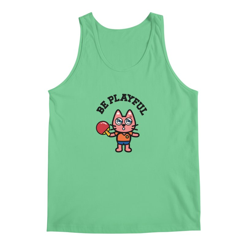 i am table-tennis player Men's Tank by beatbeatwing's Artist Shop