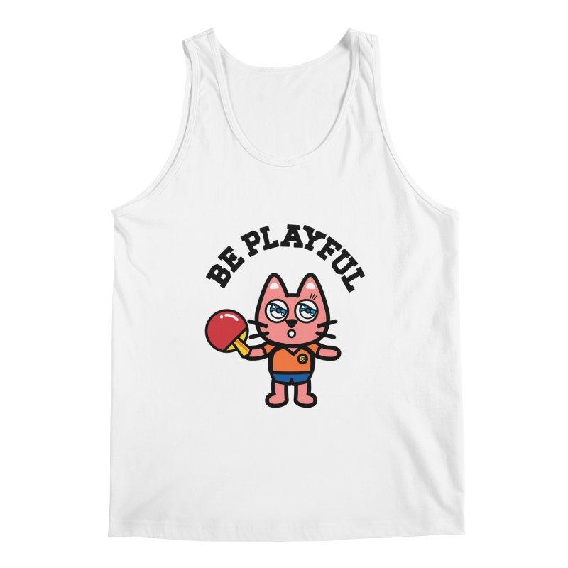 i am table-tennis player Men's Regular Tank by beatbeatwing's Artist Shop